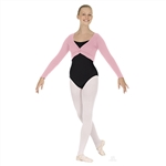 Eurotard Adult Twist Front Crop Sweater - You Go Girl Dancewear