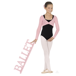 Eurotard Child Twist Front Crop Sweater - You Go Girl Dancewear
