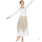 Eurotard Adult Passion of Faith Praise Skirt and Drape Overlay