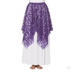 Eurotard Child Passion of Faith Praise Skirt and Drape Overlay