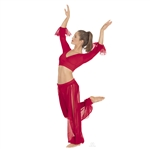 Eurotard Harem Pants w/ Built-In Trunk - You Go Girl Dancewear