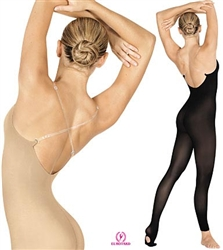 Eurotard Seamless Convertible Body Tights - Heavy Weight Microfiber - 95705