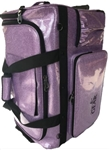 Glam'r Gear Large Changing Station with Curtain - Purple Sparkle