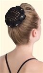 """Magic Bun"" with rhinestones - H010"