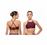 Honeycut Comp Halter Top
