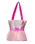 Horizon Dance Tutu Cute Tote – Sparkly Pink - You Go Girl Dancewear