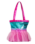 Horizon Dance Tutu Cute Tote – Teal/Pink - You Go Girl Dancewear