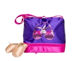 Horizon Dance Satin & Sequins Gear Tote – Purple - You Go Girl Dancewear