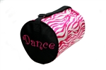 Zebra Dance Duffle Bag - You Go Girl Dancewear