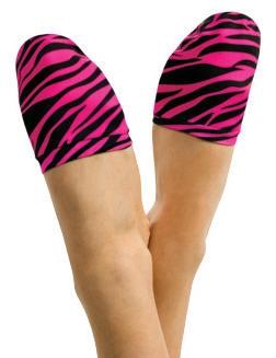 45664f743 Heart and Soul Zebra Toe Jamz - You Go Girl Dancewear