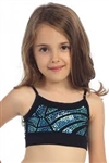 Idea Kids Crackle Sequin Bandeau Cami Top