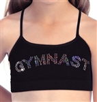 Idea Kids Gymnast Sequin Sports Bra