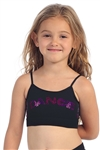 Idea Kids Dance Sequin Basic Bandeau Cami Top