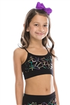 Idea Kids Shattered Sequin Top
