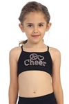 Idea Kids Cheer Stud Racerback Bra Cami