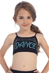 Idea Kids Dance Stud and Sequin Bra Cami