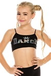 Idea Kids Dance Crown Sequin Bra Cami