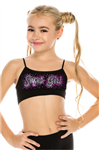 Idea Kids Super Girl Sequin Bra Cami