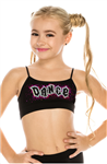 Idea Kids Dance Sequin Bra Cami