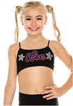 Idea Kids Love Star Sequin Bra Top