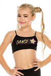 Idea Kids I Love Dance Sequin Bra Cami