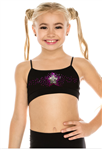 Idea Kids Star Sequin Bra Top