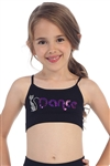 Idea Kids Kitty Dance Sequin Bra Cami