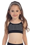 Idea Kids Diamond Circle Seamless Pattern Bandeau Cami