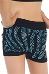 Idea Kids Zebra Sequin Boyshorts