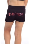 Idea Kids Sequin Puppy Print Boy Shorts