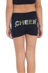 Idea Kids Cheer Sequin & Stud Boy Shorts