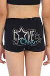 Idea Kids Love Cheer Stud Boyshorts