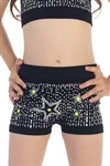 Idea Kids Scatter Sequin with Star Boy Shorts