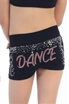 Idea Kids Dance Stud & Sequin Boy Shorts