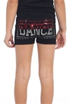 Idea Kids Dance Sequin Boy Shorts