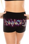 Idea Kids Dance Up Sequin Boyshorts