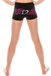 Idea Kids Dance Love Sequin Boyshorts
