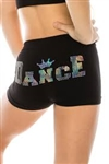 Idea Kids Dance Crown Sequin Boyshorts
