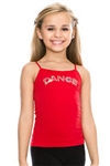 Idea Kids Dance Sequin Cami