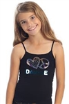 Idea Kids Love Peace Hip Hop Cami