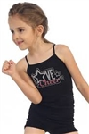Idea Kids Love Cheer Stud Cami