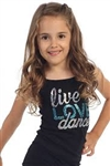 Idea Kids Live, Love, Dance Sequin Cami