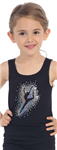 Idea Kids Dancer Sequin Sleeveless Tank Top