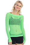 Basic Fishnet Top - You Go Girl Dancewear