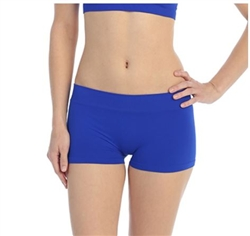 Junior Size Solid Color Boy Shorts - You Go Girl Dancewear