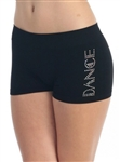 "Rhinestone ""Dance"" Shorts"