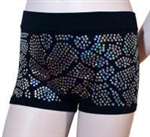 Giraffe Sequin Shorts