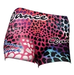 Animal Print Dance Boy Shorts
