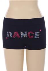 "Sequin & Stud ""Dance"" Boy Shorts"