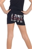 "Kids Rhinestone and Sequin ""Love Dance"" Top - You Go Girl Dancewear"